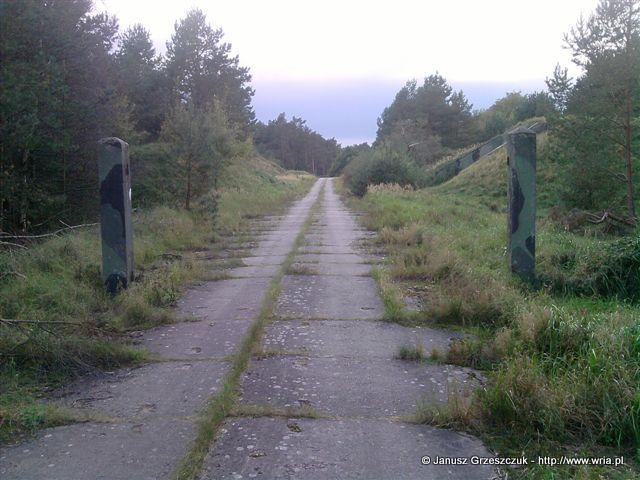 Brama na strefę POT w 70. dr OP m. Łunowo.