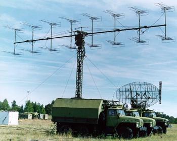 "Stacja radiolokacyjna P-18 ""Laura"".Foto: Iwan Motlik"
