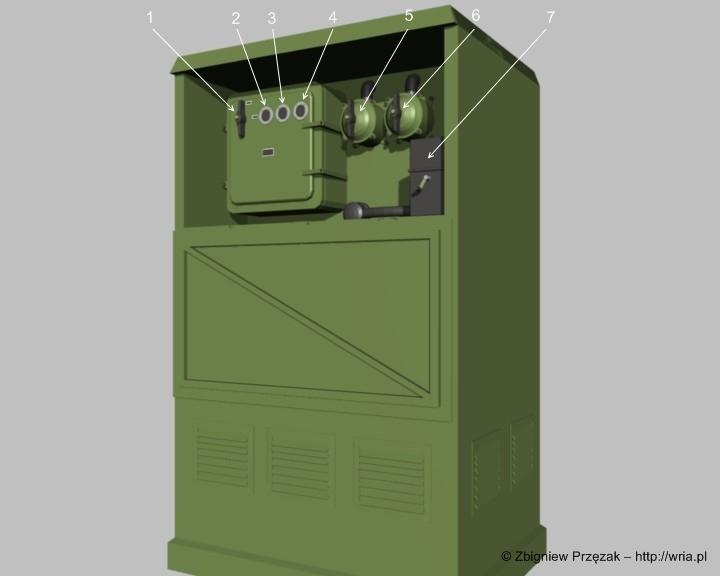 Szafa sterująca podnośnikiem SM-102A.